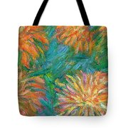Chrysanthemum Shift Tote Bag