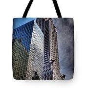 Chrysler Building From Below Tote Bag