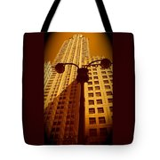 Rockefeller Building In Manhattan Tote Bag