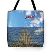 Chrysler Building Reflections Vertical 1 Tote Bag