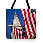 Chrysler Flags Tote Bag