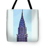 Chrysler Spire Nyc Usa Tote Bag