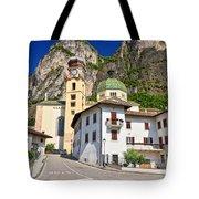 Chuch In Mezzacorona Tote Bag