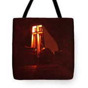 Chapel At Night Tote Bag