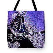 Chuck Berry Rocks Abstract Tote Bag