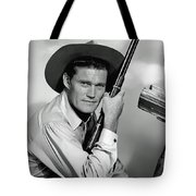 Chuck Connors - The Rifleman Tote Bag