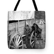 Chuck Wagon - Bw 02 Tote Bag