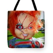 Chuckys Coming Tote Bag