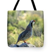 Chukar Crow Tote Bag