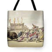 Chulos Playing The Bull, 1865 Tote Bag