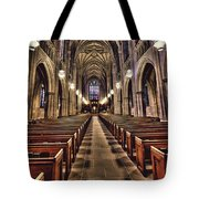 Church Aisle Tote Bag