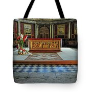 Church Alter Provence France Tote Bag