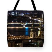 Church And Bridge Tote Bag