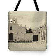Church And Courtyard Argentina Tote Bag