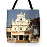 Church At Colva Tote Bag