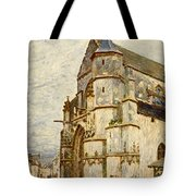 Church At Moret After The Rain Tote Bag