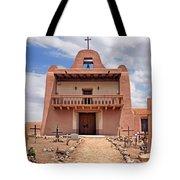 Church At San Ildefonso Tote Bag