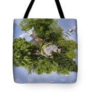 Church Circle Tote Bag by Heather Applegate