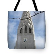 Church Clocktower Tote Bag