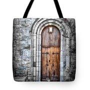 Church Door Killala Ireland Tote Bag