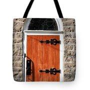 Church Door Tote Bag