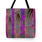 Church Doors Pop Art Tote Bag