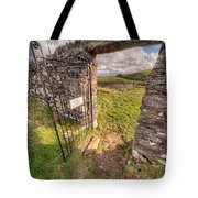 Church Gate Tote Bag by Adrian Evans