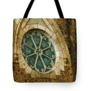 Church Glass Tote Bag