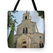 Church In Gordes Tote Bag