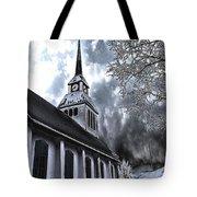 Church In Kuusamo Finland Tote Bag