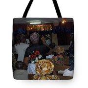 Church In Nigeria Tote Bag