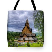 Church In Norway Tote Bag