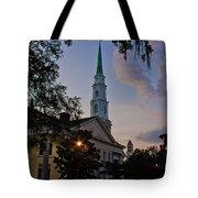 Church In Savannah Tote Bag