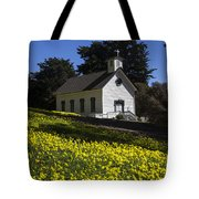 Church In The Clover Tote Bag