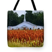 Church In The Fields Tote Bag