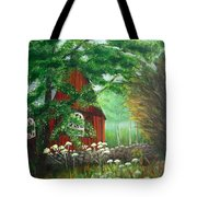 Church In The Glen Tote Bag