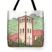 Church In The Jungle Tote Bag