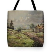 Church In The Ozarks Tote Bag