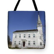 Church In Westerlo Tote Bag