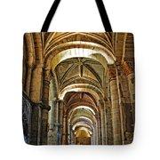 Church Interior Dordogne Region France Tote Bag