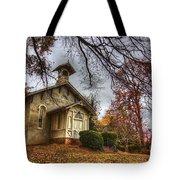 Church Of Autumn Tote Bag