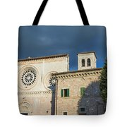 Church Of  Di San Pietro In Assisi Tote Bag