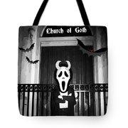Church Of Goth Tote Bag