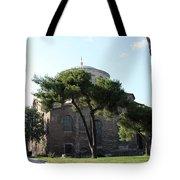 Church Of Hagia Eirene I - First Courtyard Topkapi Palace Tote Bag