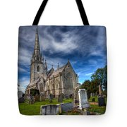 Church Of Marble Tote Bag