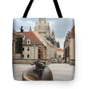 Church Of Our Lady - Dresden - Germany Tote Bag