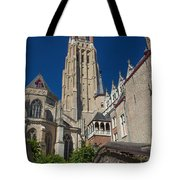 Church Of Our Lady In Bruges Tote Bag