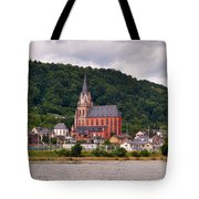 Church Of Our Lady  Oberwesel Am Rhein Tote Bag
