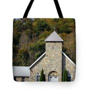 Church Of Rock Tote Bag