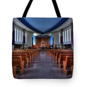 Church Of Saint Columba Tote Bag